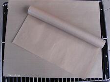 2 x Backtrennfolie - Dauerbackfolie-Backfolie,braun-33 x40 cm