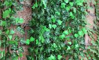 ONEGREEN  Ivy Leaf Garland Plant Vine Fake Foliage Flowers Home decor 7.5ft