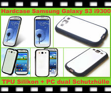 Silikon Schutz Hülle Case Cover f Samsung Galaxy S3 SIII i9300 Tasche Bumper TPU