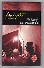 Georges Simenon -Maigret au Picratt's . 2013  comme neuf. poche n°14219