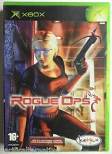Jeu ROGUE OPS sur microsoft XBOX francais game action nikky connors Complet  #1
