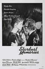 STARDUST MEMORIES Movie POSTER 27x40 Woody Allen Charlotte Rampling Jessica
