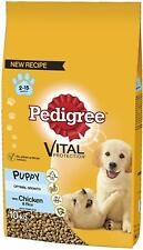 Pedigree Puppy Medium Dog Dry Food with Chicken and Rice, 10 kg