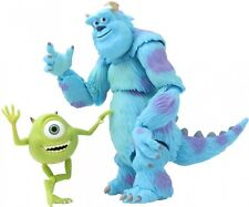 Monsters Inc.: Mike & Sally Revoltech #028 Super Poseable Figure JAPAN F/S J6256