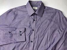 Robert Graham Men's 16.5/42 Plaid Checks Button Dress Shirt Long Sleeve