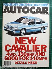 Autocar 2/9/1987 MG Montego Turbo Citroen BX GTi 16V Alfa 75 Carrera Club Sport