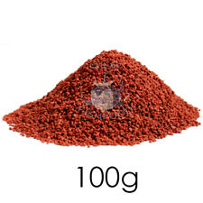 TROPICAL FISH FOOD Red Discus Granules Colour Cichlid Angel Tetra Catfish 100g