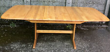 OUTSTANDING LARGE MODERN ERCOL  WINDSOR EXTENDING TABLE DELIVERY AVAILABLE