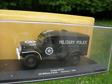 EAGLEMOSS Models 1/43 Militaire DODGE TRUCK WC54 4X4 POLICE MILITAIRE 1945