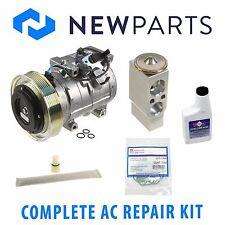 Acura MDX 03-06 Honda Pilot 05-08 NEW AC A/C Repair Kit With Compressor & Clutch