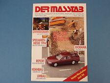Der Masstab Heft 2/April 1994 gebraucht, guter Zustand