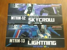 Maketoys Lightning & Skycrow MISB MTRM-12 MTRM-13 Transformers 3rd Party MP USA