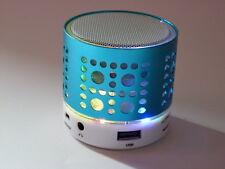 Mini Enceinte Haut parleur  Bluetooth lumineuse usb rechargeable carte sd