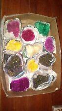 rocks fossils minerals crystals box of 11 very beautiful