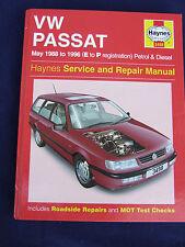 VW VOLKSWAGEN PASSAT 1988 1996 PETROL & DIES HAYNES SERVICE & REPAIR MANUAL 3498