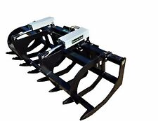 "78"" HD GRAPPLE- NEW, POWDER COATED, SKID STEER, BRUSH GRAPPLE, FREE SHIPPING"