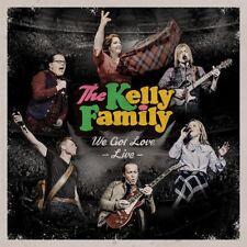 THE KELLY FAMILY - WE GOT LOVE-LIVE  2 CD NEU