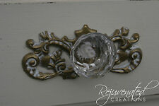 DIY knob backplates shabby appliques furniture appliques hardware accessories