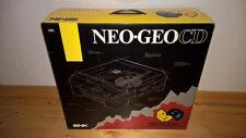 ## jap. Neo Geo CD Frontloader Konsole in OVP - voll funktionstüchtig - TOP ##