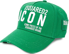 Dsquared2 Icon Logo Embroidered Baseball Cap Baseball Hat Cappy