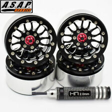 "Hot Racing BLW19SLA01 1.9"" Rock Crawler Aluminum A Type Beadlock Wheels (4)"