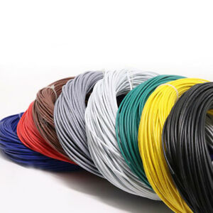 PVC Electronic Wire Tinned Copper UL1007-18AWG Flexible Silicone Cable Wire