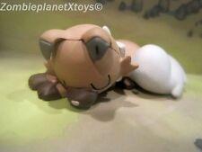 SLEEPING ROCKRUFF POKEMON Sun Moon GOODNIGHT FRIENDS Plastic Figure Toy NINTENDO