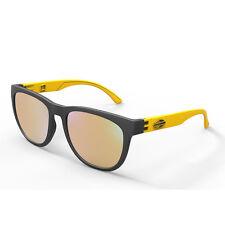 Occhiali da sole sole Santa Cruz, Mormaii nero e giallo con lenti dorate