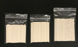 """Paper Cake Pop Lolly Sticks Paper Lollipop Sticks Oven Safe 3"""" 3.5"""" 4"""" 4.5"""" 6"""""""