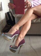Hammer sexy neue edle 15cm bunte High Heels von Ladystar Katzenberger in gr 40