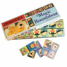 Magic Roundabout Dominoes Children Kids Family Fun Game Classic Vintage
