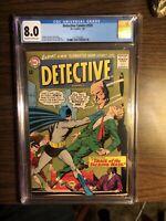 Detective Comics 335 CGC 8.0 ! Elongated Man Story, Jan 1965 DC !