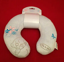 ME TO YOU BEAR TATTY TEDDY BLUE TRAVEL SUPPORT NECK PILLOW GIFT - CAR - PLANE -