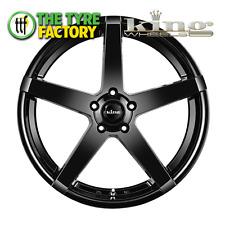 King Wheels HOSTILE 19x8.5 5/114.3 35P GLOSS BLACK  Alloy Wheels