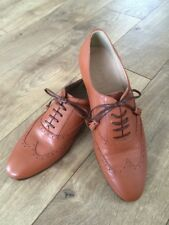 NEW JCrew Women Tasseled Oxford Shoes Brown Style E1161 Retails $268 8 SOLD-OUT
