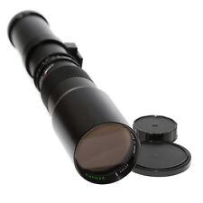 Danubia 500mm 1:8,0 teleobjetivo para Minolta MD del comerciante