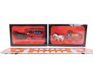 CU931-0,5# 2x Preiser H0 FW-Wasserwagen etc: 00426/30426+00427/30427 NEUW+OVP