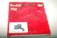 Scotch ATG 752 Tape Gun  With Three rolls of 924 Adhesive Transfer Tape N O S