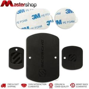 Scosche Magic Mount Magnetic Replace Kit With Small / Medium / Large Metal Plate
