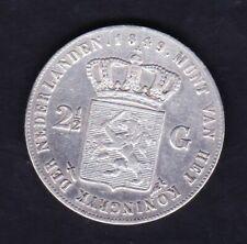 2,5 Gulden 1849 Willem 2