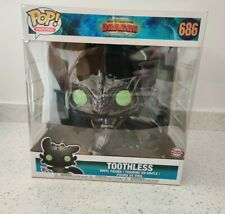 How to Train Your Dragon Funko POP! Movies Toothless Vinyl Figure 10 inch 686