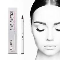Microblading Tattoo Fork Tip Eyebrow Pen Waterproof Eyeliner Makeup Brow Pencil