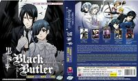 Black Butler - Kuroshitsuji (Season 123 + Movie + 9 OVA) ~English Version ~ New