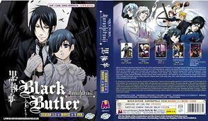 Black Butler - Kuroshitsuji (Season 123 + Movie + 9 OVA) ~English Version ~ New