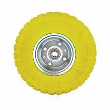 """10"""" Solid Rubber Tyre Wheel Foam Filled Sack Truck Trolley Cart AN002"""