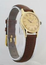 Omega Ladymatic 18k Yellow Gold Ladies Automatic Watch Cal. 455