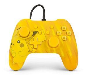 Controller für Nintendo Switch - Gelb - Pikachu Edition - PowerA - Kabelgebunden