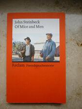"John Steinbeck ""Of Mice and Men"" Englisch Reclam Fremdsprachentexte"