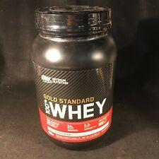 ON Gold Standard 100% Whey Vanilla Ice Cream Protein Powder 2 lb NEW Exp 12/21