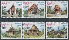 LAOS N°418/423** Pagodes laotiennes  TB, 1982 Pagodas SC#399-404 MNH